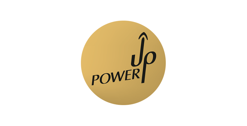 Power Up - ein Kunde der Werbeagentur Grafikladen